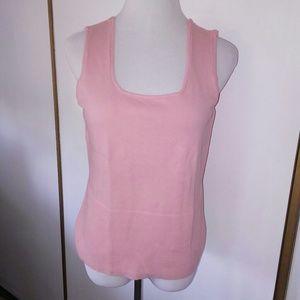Pink sweater tank